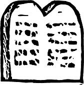 Ten commandments Clip Art Illustrations. 19 ten ...