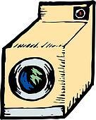 clip art w sche laundry suche clipart poster. Black Bedroom Furniture Sets. Home Design Ideas
