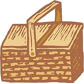 Picnic basket Illustrations and Clip Art. 290 picnic ...