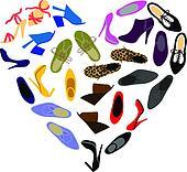 Shoes Clip Art Illustrations. 43,920 shoes clipart EPS vector ...