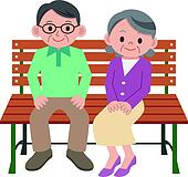 Old couple Clip Art Illustrations. 3,657 old couple ...