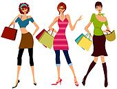 shopping illustrations and clipart 89181 shopping