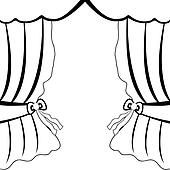 Curtain Clip Art Vector Graphics. 24,184 curtain EPS clipart ...