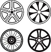 Spoke wheel Clipart and Stock Illustrations. 868 spoke wheel ...