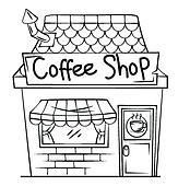 Coffee shop Clipart Royalty Free. 22,484 coffee shop clip ...