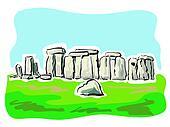 Image result for stonehenge clipart