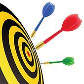 Darts Clip Art EPS Images. 6,323 darts clipart vector ...