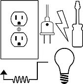 Electrical Clip Art Royalty Free 48 365 Electrical