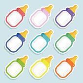 Baby bottle Clip Art Royalty Free. 7,265 baby bottle clipart ...