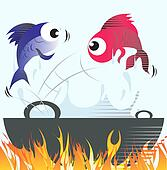 Fish Illustrations and Clipart. 21,967 fish royalty free ...