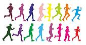 Walking exercise Clip Art and Stock Illustrations. 915 ...
