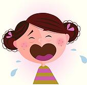 Baby crying Clip Art EPS Images. 922 baby crying clipart vector ...