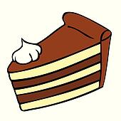 Chocolate cake Clipart EPS Images. 20,920 chocolate cake ...