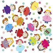 Baby doll Illustrations and Stock Art. 624 baby doll illustration ...