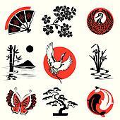 Japanese Clipart Illustrations. 37,534 japanese clip art vector ...