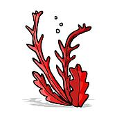 Cartoon Seaweed Clipart Seaweed Clip Art Illus...