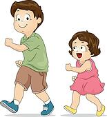 Brother sister Clipart Royalty Free. 4,267 brother sister ...