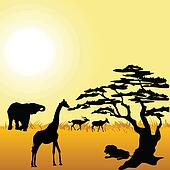 Wildlife Clip Art EPS Images. 119,123 wildlife clipart vector ...