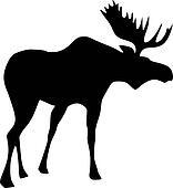 Clip Art Moose Clip Art moose clipart royalty free 2210 clip art vector eps silhouette