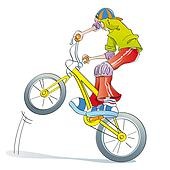 Bike riding Illustrations and Clip Art. 4,330 bike riding royalty ...