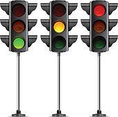 Traffic light Clip Art Royalty Free. 7,282 traffic light clipart ...