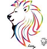 Lion head Clip Art and Illustration. 3,974 lion head clipart ...