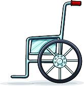 Wheelchair Clipart EPS Images. 6,023 wheelchair clip art vector ...