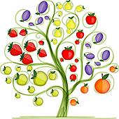Fruit tree Clip Art Vector Graphics. 11,696 fruit tree EPS ...
