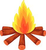 Campfire Clip Art Illustrations. 6,845 campfire clipart EPS vector ...