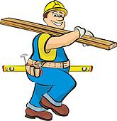 Clip Art Carpenter Clipart carpenter clipart vector graphics 5545 eps clip art master carpenters work