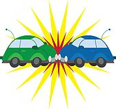 Car crash Clipart Illustrations. 2,358 car crash clip art vector ...