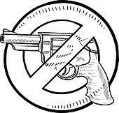Handgun Clip Art and Illustration. 4,604 handgun clipart vector ...