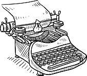 Old manual typewriter value