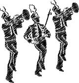 Band Clip Art Illustrations. 43,019 band clipart EPS vector ...