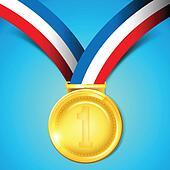 Medal winner Clip Art Vector Graphics. 14,663 medal winner ...