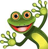 Green frog Clip Art Royalty Free. 2,579 green frog clipart vector ...