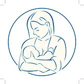 Mother child Clip Art Illustrations. 26,388 mother child clipart ...