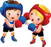 Clip Art Boxing Clipart boxing clipart vector graphics 192320 eps clip art girl boxing