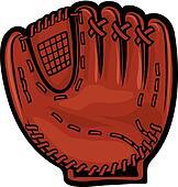 Clip Art Baseball Mitt Clipart baseball glove clip art illustrations 1865 bat silhouette clipart