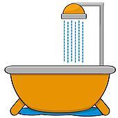 Clip Art Shower Clipart shower clipart illustrations 124630 clip art vector eps head