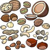 Nuts Clip Art Royalty Free. 9,847 nuts clipart vector EPS ...