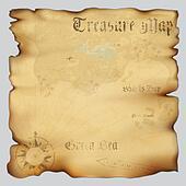 Treasure map Clip Art and Stock Illustrations. 1,084 treasure map ...