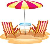 Clip Art Beach Chair Clipart beach chair clipart royalty free 3742 clip art two chairs white sand