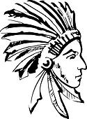 Indian chief Clipart Royalty Free. 909 indian chief clip art ...