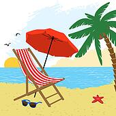 Clip Art Beach Chair Clipart beach chair clipart royalty free 3742 clip art palm trees chairs