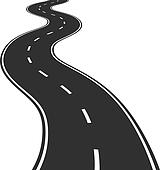 Clip Art Clipart Road road clipart royalty free 101816 clip art vector eps winding road