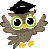 graduation clip art and illustration 32 146 graduation Preschool Graduation Owl Clip Art Owl with Graduation Hat Clip Art
