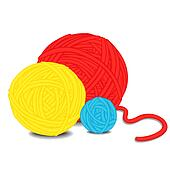 Yarn Clip Art Royalty Free. 3,221 yarn clipart vector EPS ...
