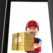 Courier Illustrations and Clipart. 3,009 courier royalty free ...