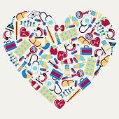 Clip Art Health Clipart health clip art illustrations 295607 clipart eps vector care symbol